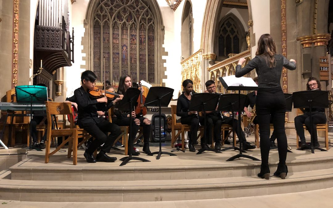 A wonderful evening at the St Marie's Cathedral